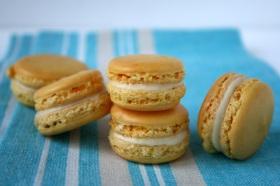 Lemon French Macarons with Limoncello White Chocolate Ganache